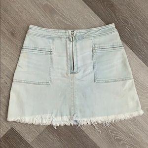 Abercrombie denim mini skirt